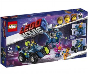 Rexs Rex-treme offroader! - 70826 - LEGO Movie 2
