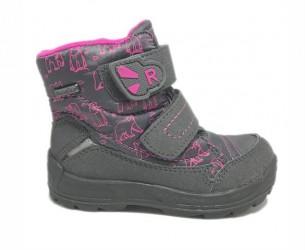 Richter 2033 vinterstøvler, grå/pink