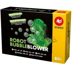 Robot Bubble Blower - Alga Science