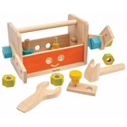 Robot værktøjskasse fra Plantoys - Bæredygtigt legetøj
