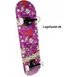 Rocket Skateboard Space