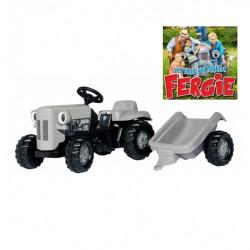 RollyKid Little Grey Fergie Traktor med vogn
