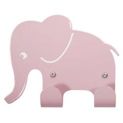 Roommate knage - Elephant Hook - Sart rosa