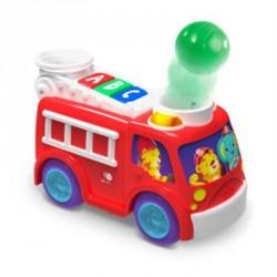 Rullende og poppende brandbil fra Bright Starts