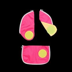 Safety Set - Reflekser til Ergobag Cubo - Pink