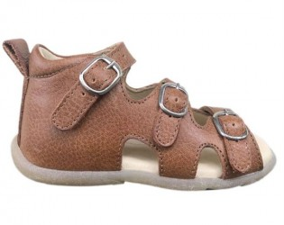 Sandal 'ala BabyBotte', cognac