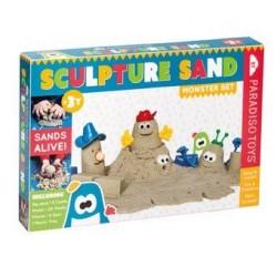 Sandskulpturer (Monster sæt med 1kg Kinetisk sand)