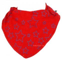 Savlesmæk fra Pippi - Rød med LIME stjerner