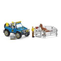 Schleich ATV med dino