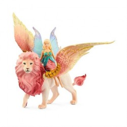 Schleich Bayala Fe og Løve med vinger