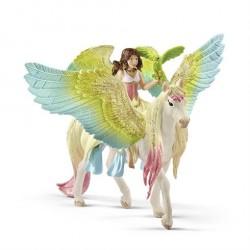 Schleich Bayala Fe Surah og Glitter Pegasus 70566