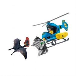 Schleich Dino Air Attack fra Helicopter fra velociraptor