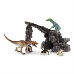 Schleich Dino sæt med Grotte 41461