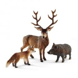 Schleich Gaveæske Skovens Dyr fra Europa 41458