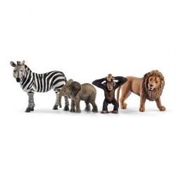 Schleich Gaveæske Vilde dyr Startsæt 42387