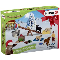 Schleich julekalender - Farm World