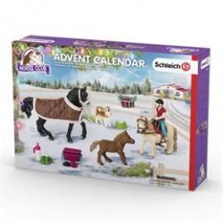 Schleich julekalender - Heste