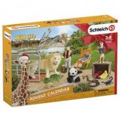 Schleich julekalender - Vilde dyr