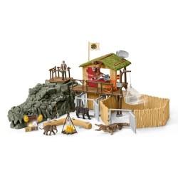 Schleich jungleforskningsstationen Croco