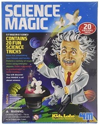 Science Magic fra 4M KidzLabs - Sæt m. 20 sjove science-tricks