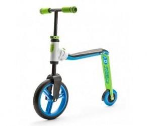 Scoot&Ride 2 i 1 løbehjul/løbecykel - Highwaybuddy - Blå/grøn