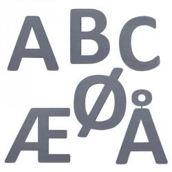 Sebra bogstaver grå (Y)