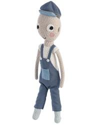 Sebra Crochet dukke