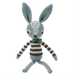 Sebra Hæklet dyr kanin Robert