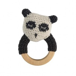Sebra rangel hæklet panda