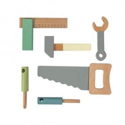Sebra Værktøjssæt i træ