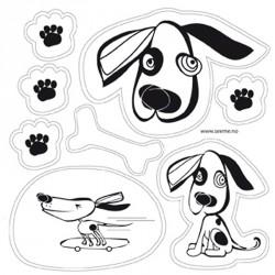 Selvklæbende refleks - Dogs fra SeeME