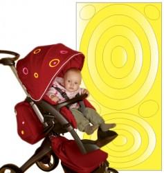 Selvklæbende refleks - Yellow ovals fra SeeME