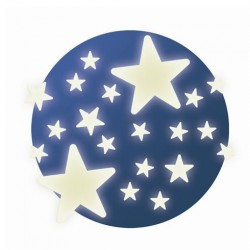 Selvlysende dekorationer Stjerner