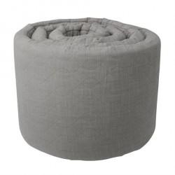 Sengerand quiltet grå fra Sebra
