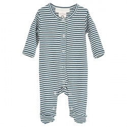 Serendipity Atlantic/Offwhite Newborn Suit
