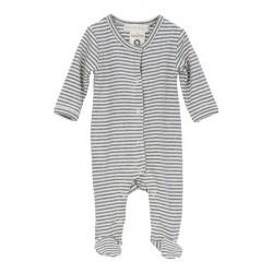 Serendipity Newborn Suit Grey/Ecru