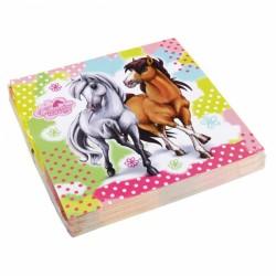 Servietter - Søde heste (20 stk)