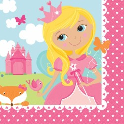 Servietter - Woodland Princess (16 stk)