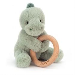 Shooshu Dino rangle m/træring fra Jellycat