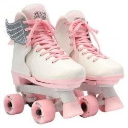 Side by side rulleskøjter 34-39, pink vanilla