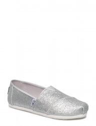 Silver Irid Glimmer Espadrile