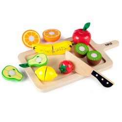 Skære frugt sæt