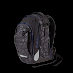 Skoletaske rygsæk - Satch Match - Black Triad (30+5L.)