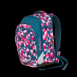 Skoletaske rygsæk - Satch Match - Pink Crush (30+5L.)