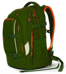 Skoletaske rygsæk - Satch Pack - Green Phatom (30L)