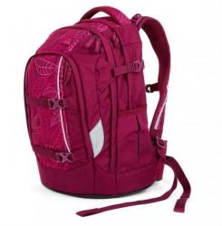 Skoletaske rygsæk - Satch Pack - Purple Leaves (30L)