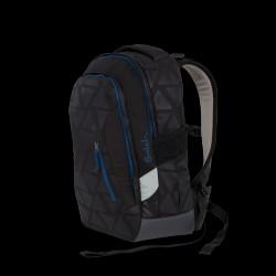 Skoletaske rygsæk - Satch Sleek - Black Triad (24L)