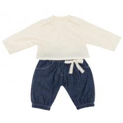 Skrållan Dukketøj - Jeans & Bluse