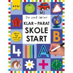 Skriv og visk ud - Klar-parat-skolestart - De små lærer - Spiralryg