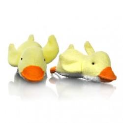 Skrubbedyr m. sisal fra Star & Rose - Baby Face Duck